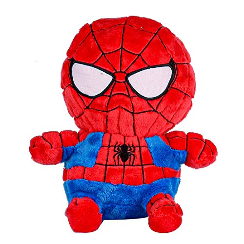 MINISO Marvel Plush Toy Pillows Soft for Boy Girl Kids Red Blue Spiderman