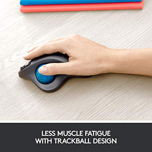 Souris sans fil Logitech M570 Trackball - 1