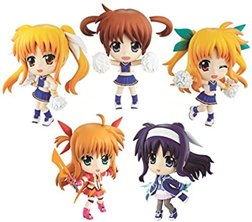 Toute loterie La plupart premium Magical Girl Lyrical Nanoha INNOCENT 1er duel G Award Kyun Chara ensemble de 5
