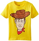 Disney Little Boys' Toddler Woody Toddler T-Shirt, Yellow, 4T