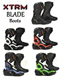 XTRM Motorcycle Motorbike Boots BLADE ADULT TOURING New 2017 On Road Racing Cruising