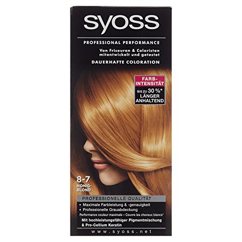 Schwarzkopf Syoss Color 8-7 Honigblond, 115 ml