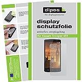 dipos I 6X Schutzfolie matt kompatibel mit Kazam Trooper 455 Folie Bildschirmschutzfolie