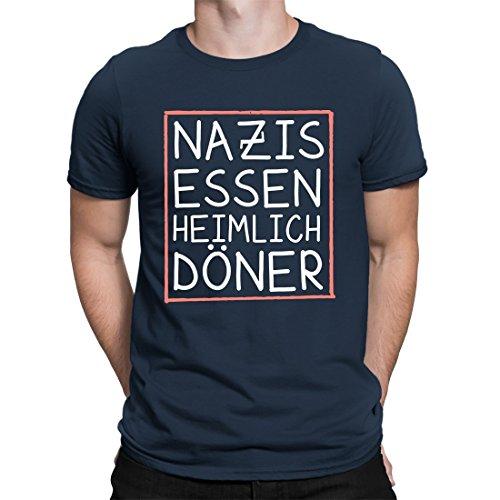 CVLR Nazis Voedsel Döner Heren T-shirt - statement Shirt - Verkrijgbaar in 10 kleuren