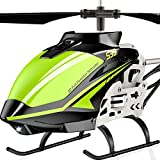 SYMA RC Helicopter, S39 Aircraft with 3.5 Channel,Bigger Size, Sturdy Alloy Material, Gyro Stabilizer and High &Low Speed, Multi-Protection Drone for Kids and Beginners to Play Indoor-Green