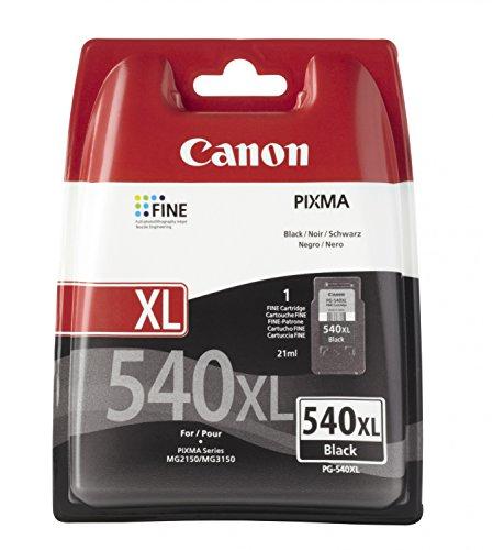 Canon PG-540 XL, Cartridge, Zwart, 1 Stuk