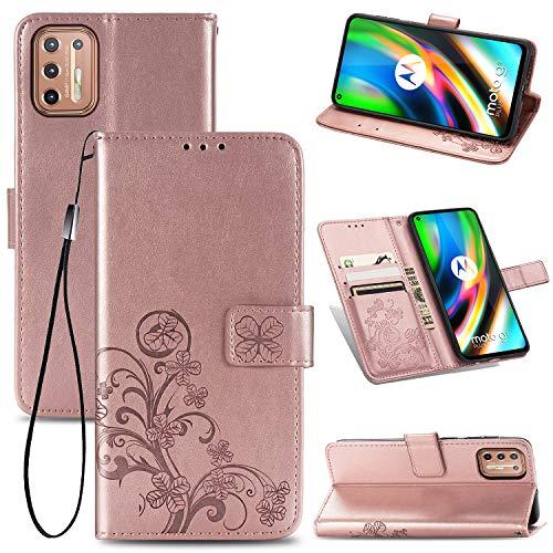 Motorola G9 Plus Dorado Marca JIUNINE