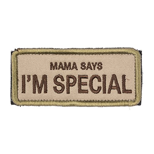 OneTigris Original Patch Tactical Morale Military Patch Mama Says I'm Special (A)