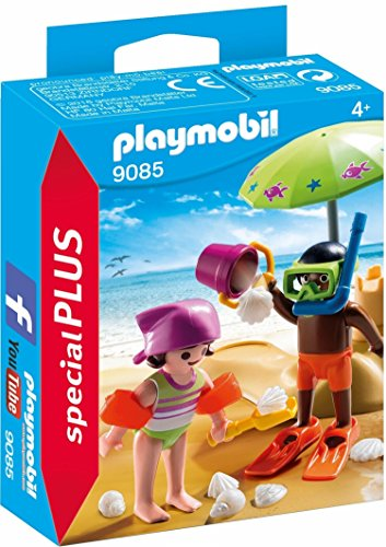 PLAYMOBIL Especiales Plus- Niños en la Playa, única (9085)