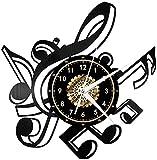 Instrumento musical Vinilo Record Reloj de Pared LED Luces de Pared Luz de la Noche Lámpara de Pared Hecho a Mano Decoración La Mejor Idea