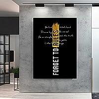 動機付けの引用ポスターPosterインスピレーション引用壁アートパネルプリントモダン動機付け壁写真会社オフィス壁装飾Cuadroインスピレーション絵画インテリア絵画 インテリア フレームなし painting インテリア 玄関 リビングと寝室の飾りに最高H27080