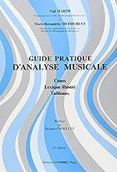 Guide pratique d\'analyse musicale : Cours - Lexique illustré - Tableaux