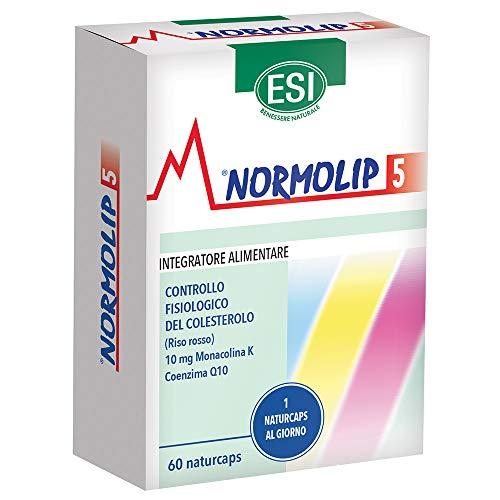 Esi Normolip 5, Controllo del Colesterolo - 60 Naturcaps