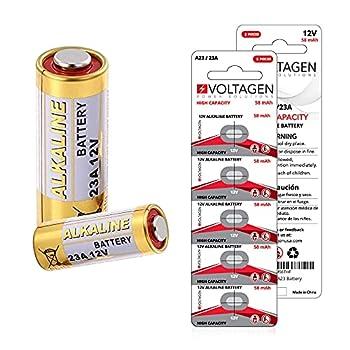 VOLTAGEN 23A A23 12v Alkaline Battery MN21 123AE MS21 V23GAb L1028 5 Pack