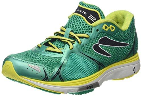 Newton Running Damen Fate Ii Women's Running Shoe Laufschuhe, Grün (Green/Yellow), 38 EU