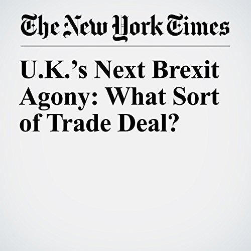 U.K.'s Next Brexit Agony: What Sort of Trade Deal? copertina