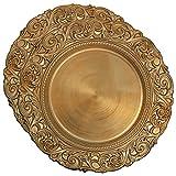 COM-FOUR® 2x Piatto decorativo in design antico - Piatto decorativo per matrimoni e feste...