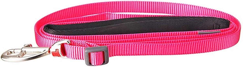 Dog Leash, Nylon Ribbon Pet Telescopic Traction Rope Dog Chain Training Lead Dog Leash (color   3, Size   M)