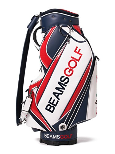 [ビームスゴルフ] ゴルフバッグ ショルダーバッグ/new ツアー プロ キャディバッグ メンズ レッド One Size