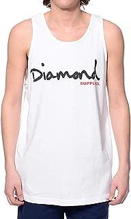 diamond supply tank tops for mens