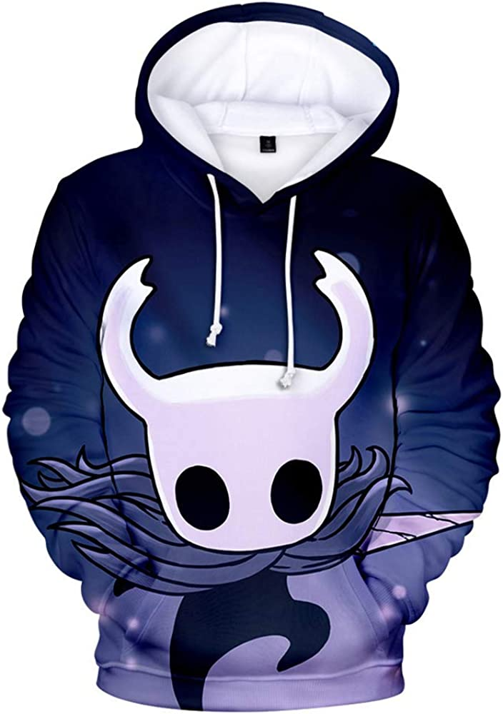 Hollow Knight Hoodie Department store Novelty Sweatshirt Unisex Max 73% OFF 3D Print Pullover