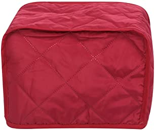 AMONIDA Bread Machine Cover Kitchen Household Appliances Dust Cover Protector Protective Cover (Wine Red)