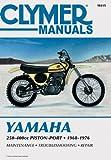 Yamaha 250-400cc Piston-Port Motorcycle (1968-1976) Service Repair Manual