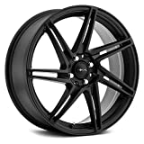 Focal 449SB F-14 Satin Black with Satin Clear-Coat Wheel with Painted Finish (17 x 8. inches /5 x 108 mm, 42 mm Offset)