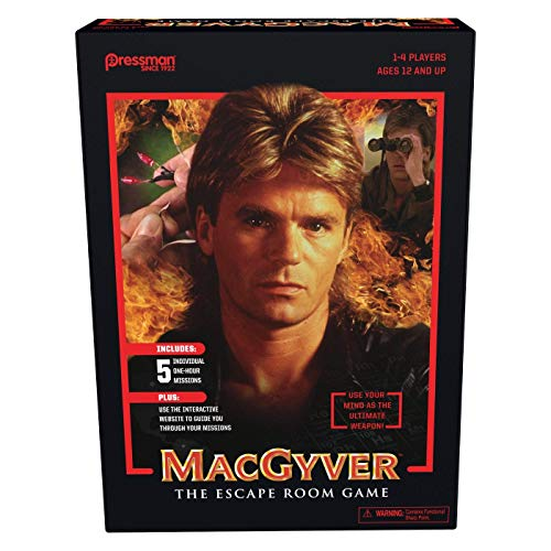 MacGyver: The Escape Room Game - Limited Edition!