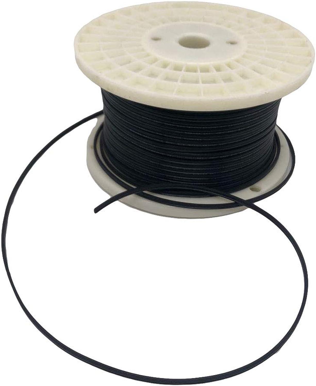 Aniai (250feet) Spool 18 2 SPT-1, SPT-2 Bulk Lamp Cord, 300-Volt 18-Gauge (spt1, black)