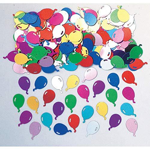 amscan Confettis De Table Balloons Party Multicolores - Taille Unique