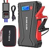 DINKALEN Booster Batterie 12800mAh 800A Portable Jump Starter (Fino a 6,0 litri di benzina / 5,0 litri di diesel)...