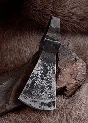 Frühmittelalterliche Hammerkopfaxt, stumpf, ca. 18cm, Schaukampf Wikinger-Axt von ULFBERTH - 4