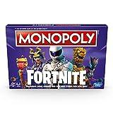 Monopoly Fortnite - Jeu de societe - Jeu de plateau - Version Allemande