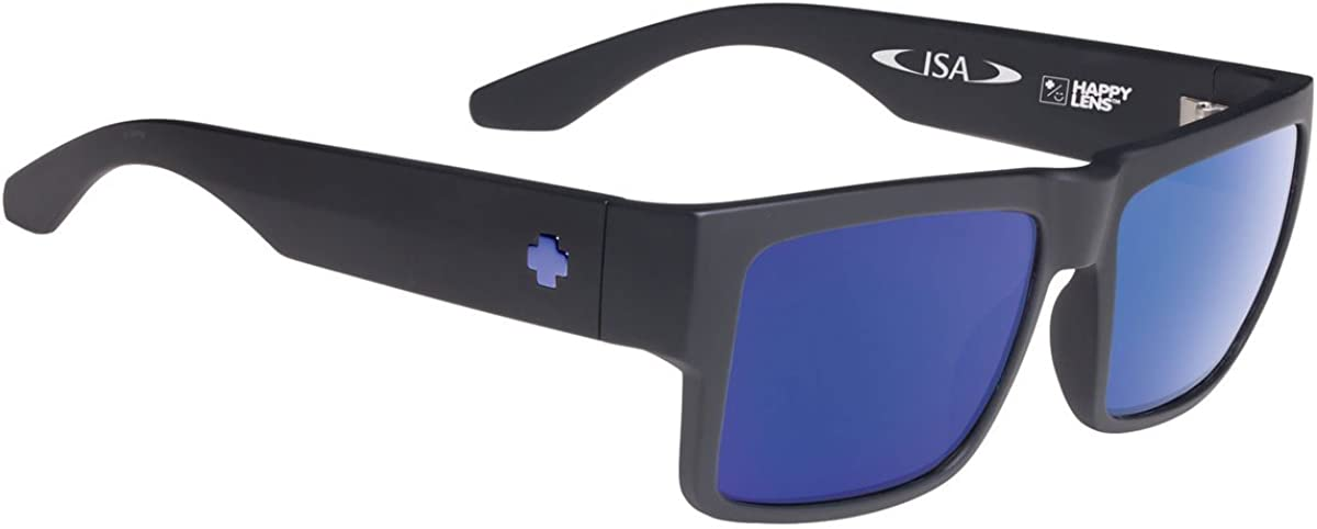 SPY Optic Cyrus, Square Sunglasses, Color and Contrast Enhancing Lenses