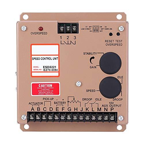 Reguladores de velocidad, componentes eléctricos del regulador de control del motor del tablero universal del controlador de velocidad ESD5221