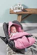 Baby Fu/ßsack 42x82cm Natural Knit sand//beige Universal Komfortsack f/ür unterwegs Jollein Wasserdichter Winterfu/ßsack Strick Schlafsack f/ür Babyschalen und Autositze