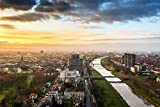 DesFoli Mannheim Deutschland Stadt Skyline Poster