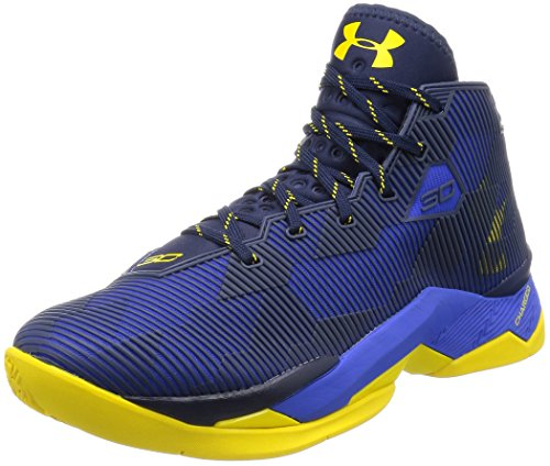 Scarpe da basket uomo Under Armour UA Curry 2.5, art. 1274425400, colore blu giallo