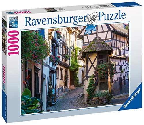 Eguisheim in Alsace, France Puzzle 1000 Fotos & Paisajes, Puzzle para adultos