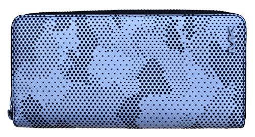 Michael Kors Geldbörse Tech Zip Around Leder Silber