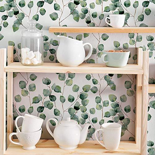 kina RA0018 Klebefolien für Möbel und Wände, sehr hochauflösende Klebepapierrollen in verschiedenen Größen, Verpackungsmöbel Fliesen Tische Schränke Küchen
