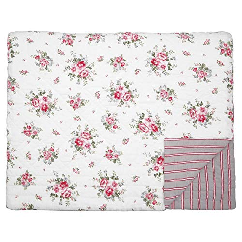 GreenGate - Tagesdecke, Quilt - Elouise - White - Baumwolle - 250x260cm