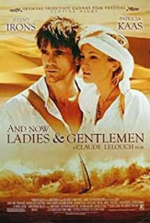 and Now Ladies.and Gentlemen Original Movie Poster Jeremy Irons Patricia Kaas