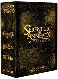 Coffret Trilogie Le Seigneur des Anneaux – Intégrale Versions longues – 12..