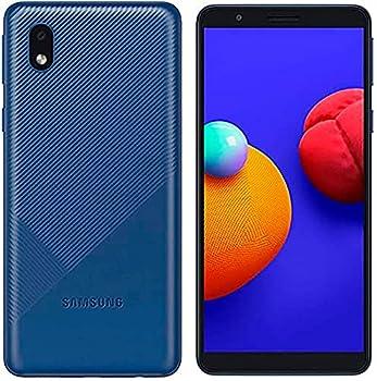 Samsung Galaxy A01 Core A013M/DS 4G LTE International Version  No US Warranty  16GB Blue - GSM Unlocked  T-Mobile AT&T Metro Straight Talk  - 64GB SD Bundle