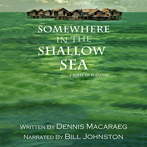 Somewhere in the Shallow Sea audiobook cover art