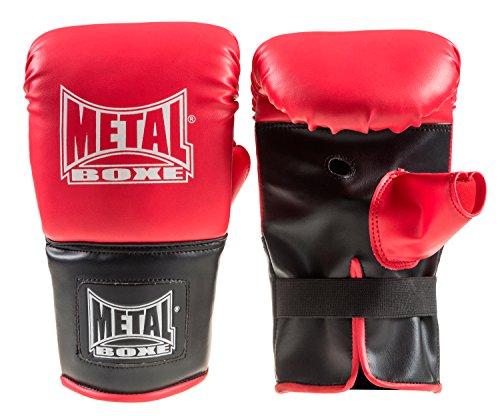 Metal Boxe handschoen de Sac unisex kinderen, rood, JR