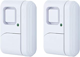 GE Personal Security Window/Door Alarm, 2-Pack, DIY Home Protection, Burglar Alert,..