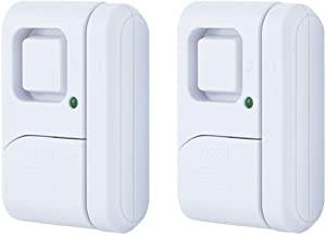 GE Personal Security Window/Door Alarm (2 Pack), 45115,White